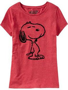 Women's Snoopy® Heathered Tees | Old Navy