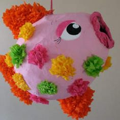 Tropical Fish Piñata by Amanda Formaro