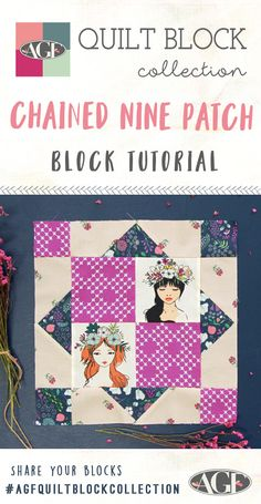 How to make a Chained Nine Patch Block