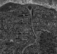 Sohei Nishino - Diorama Map. Kyoto, 2003 - stampa light jet, 136 x 123 cm - © Shoei Nishino, Courtesy of Michael Hoppen Contemporary - english.mart.trento.it/perduti-nel-paesaggio