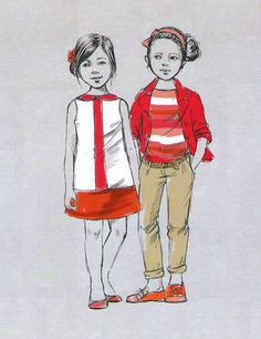 fashion sketches of children - Поиск в Google