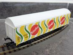 Selten-H0-LIMA-SINALCO-303589K-2-achs-Gueterwagen-SBB-CFF-mit-OVP-KK-Kulisse
