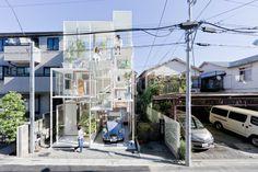 Прозрачный дом в Токио | O'DOME