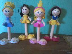 Fofuplumas de princesas - sandy_creaciones - Fotolog