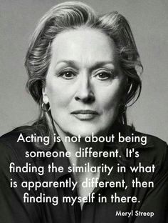 17 Times Meryl Streep Was An Inspiration To Us All - Icon People - Ideas of Icon People - When she proved that empathy plays a huge part in great acting. Acting Quotes, Acting Tips, Acting Lessons, Singing Lessons, Drama Quotes, Acting Skills, Pain Quotes, Singing Tips, Random Quotes