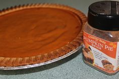 I have never tasted a Pumpkin Pie before my son made it tonight - now I know why Americans and Canadians love it so much! Seriously delicious!