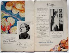 Ah... Gloria Swanson's personal bisquick recipe! Oh course you have to put on a photo of her!