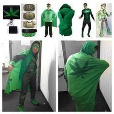 Captain Cannabis   15 Hilariously Awesome Stoner Halloween Costume Ideas