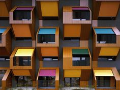 Izola Social Housing by OFIS arhitekti, Izola, Slovenia - (2003-2006)