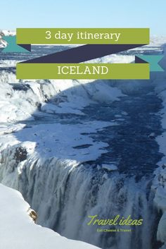 3 Days in Iceland – Inspiration and Ideas