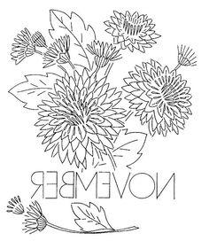 Vintage Embroidery Patterns | vintage flowers embroidery or redwork November