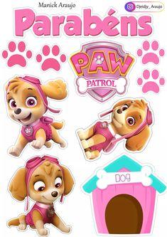 Sky Paw Patrol, Paw Patrol Party, Paw Patrol Birthday Girl, Girl Birthday, Paw Patrol Cake Toppers, Baby Box, Disney Frozen Elsa, Frozen Birthday Party, Girl Cakes