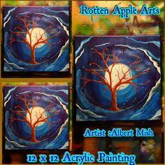 Rotten Apple Arts!  Wedding tree Apple Art, Tree Wedding, Paintings, Artist, Artwork, Design, Work Of Art, Artists