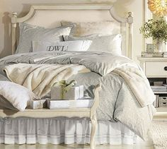 Sofia Headboard & Dresser Set #potterybarn This is my bedroom. Stop eating lunch and SAVE!