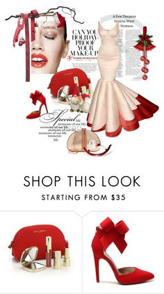 """Holiday Fashions"" by kari-c ❤ liked on Polyvore featuring Hershesons, Dolce&Gabbana, Qupid and Ted Baker"