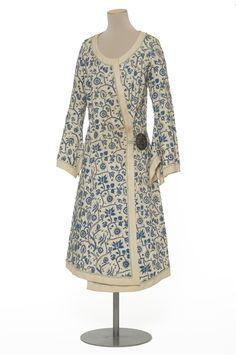 Coat, cotton, Paul Poiret designer, French, 1924