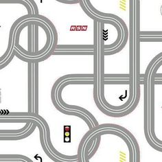 York Wallcoverings Walt Disney Kids II Road x Wallpaper Color: Cream, Gray, Red, Yellow, Black and Blue Walt Disney Kids, Disney Cars, Boys Room Wallpaper, Stripped Wallpaper, Paintable Wallpaper, Wallpaper Warehouse, Murals For Kids, Disney Home Decor, Contemporary Wallpaper