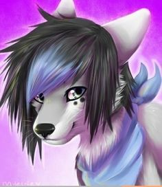 I like the tuft on this fursona. Thank you to the person who drew this. And thanks Haley Boron for finding it!