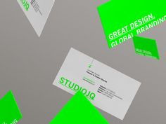 DRIBBBLE SHOTS / SJQ 2014 // Business cards
