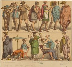 [Men and women, Ancient Greece.] (1883-1886)