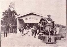 O Trem para Guarulhos, que passava pelo Jaçanã, sendo inaugurado em 1915.
