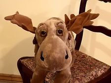 "Large Mountain Moose 30"" Big Sky Carvers 1996 Plush Floppy Mooses Stuffed Animal   #bigskycarvers #mountainmooses #moose #plush"