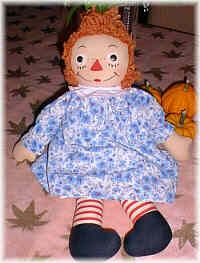 Georgene Novelties  Raggedy Ann