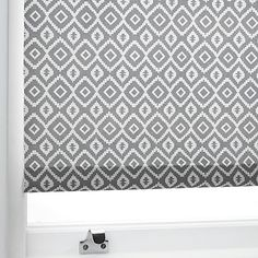 Buy John Lewis & Partners Nazca Daylight Roller Blind, Grey from our Ready Made Blinds range at John Lewis & Partners. Roller Blinds Kitchen, Grey Roller Blinds, Kitchen Blinds, Family Bathroom, Downstairs Bathroom, Blinds Online, Copper Kitchen, Roman Blinds, John Lewis