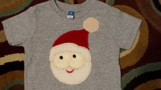 Santa-Toddler and  Youth shirts by BlingU on Etsy