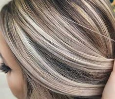 30 Brown & Blonde Haarfarbe Kombinationen