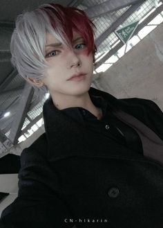 Cosplay (コスプレ kosupure), a portmanteau of the words costume play, is a performance art in which participants called cosplayers wear costumes and fashi. Cosplay Anime, Todoroki Cosplay, Cute Cosplay, Amazing Cosplay, Cosplay Outfits, Best Cosplay, Naruto Cosplay, My Hero Academia, Cosplay Mignon
