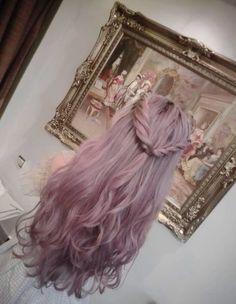 Seeking Freedom | Tumblr | Dyed Hair | Purple | Lilac Hair | Braid ...