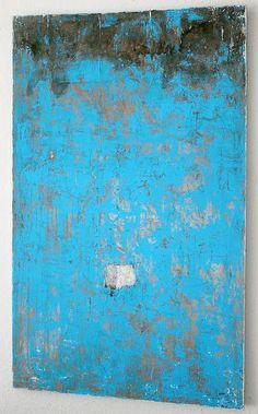 CHRISTIAN HETZEL: blue paint