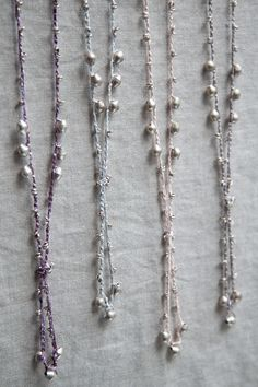 Ethiope Necklace • Frost • Silver Beads by corda | CORDA