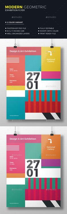 Geometric Colorful Flyer