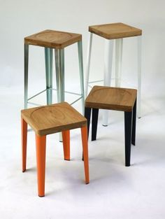 Stools available in two heights – WBS1 (low) and WBS2 (high)