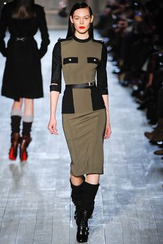 Victoria Beckham Fall 2012 Ready to Wear