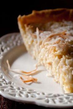Coconut Custard Pie!! by maryann maltby