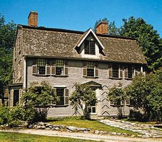 The Old Manse ~ Concord, MA. Both Ralph Waldo Emerson and Nathaniel Hawthorne lived here. The Alcotts and Henry David Thoureau were frequent guests.
