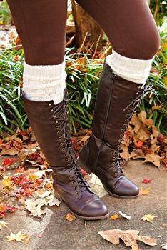 8c848b1f1e87 Shoes ♤ · Lace Me Up Riding Boots - Brown Bottes D équitation Marron