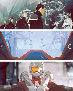 Halo 4 Spartan Ops Promotional Motion Comic Film, by Planet Jump animation studio