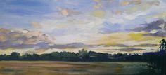 #paintseptember Belvoir Castle, acrylic on canvas.11/9/13