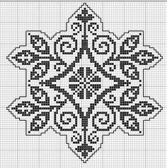 "Photo from album ""ВЫШИВАЛЬЩИЦАМ"" on Yandex. Cross Stitch Geometric, Beaded Cross Stitch, Cross Stitch Borders, Cross Stitch Charts, Cross Stitch Designs, Cross Stitching, Cross Stitch Patterns, Crochet Patterns, Folk Embroidery"