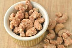 Gourmet Candy Cashews: Your Guests will Go Nutty! | Intimate Weddings - Small Wedding Blog - DIY Wedding Ideas for Small and Intimate Weddings - Real Small Weddings