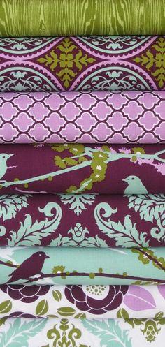 Purple & Olive - Joel Dewberry!  One of my favorites!