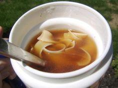 Thermos Noodle Soup