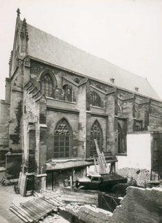 Maastricht. De Dominicanenkerk uit het zuiden gezien.