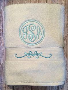 Monogrammed Towels!