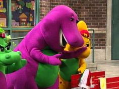 Barney: More Barney Songs - Clip Barney & Friends, Youtube Movies, My Character, Elmo, Music Songs, Discovery, Dinosaur Stuffed Animal, Nostalgia