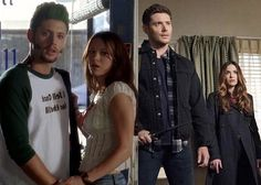 Acting together - Jensen and Danneel :)